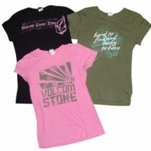 Volcom stone shirts